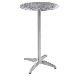 Table bar aluminium