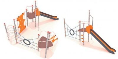 Jeux en structure acier galvanisé