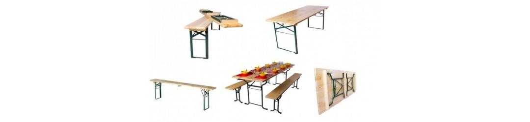 Table et banc brasserie - FAP COLLECTIVITES