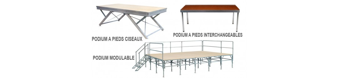 Podiums - FAP COLLECTIVITES