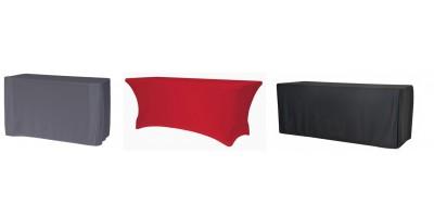 Nappes pour tables polyéthylène rectangulaires
